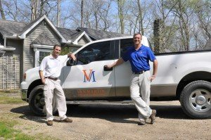 Seth Martin and Doug Van Dyke of Van Martin Roofing