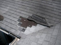 how to avoid damaging shingles with ladder