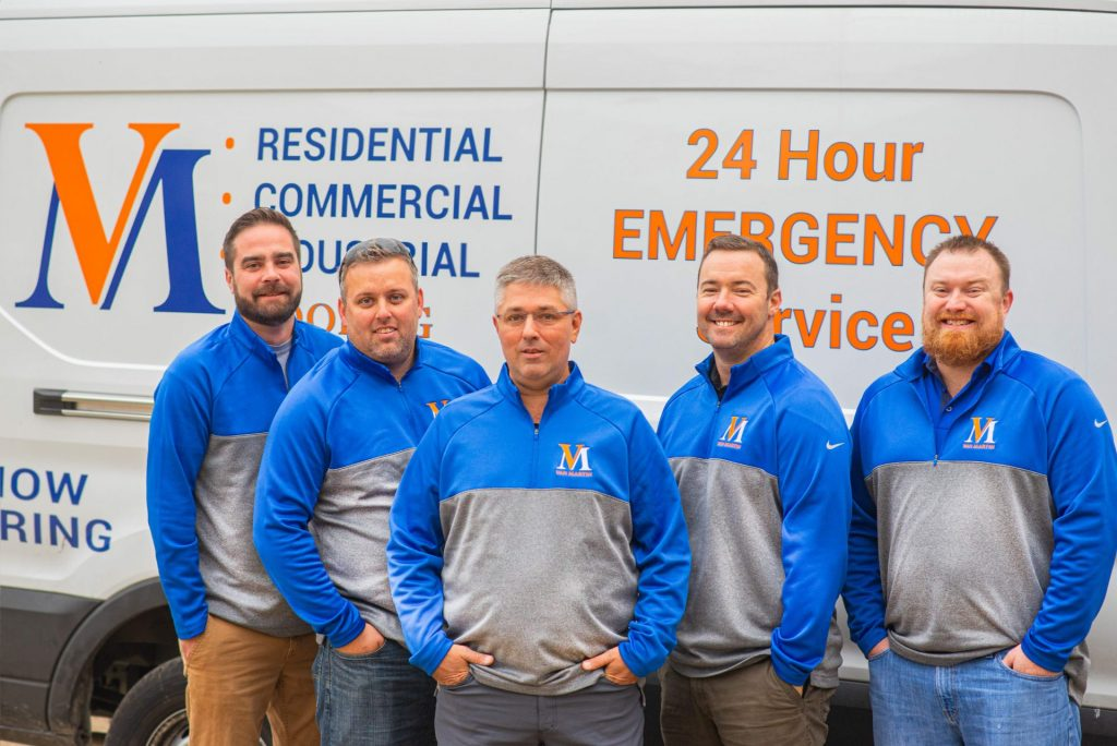 Van Martin Roofing, Dayton Roofing, free estimates, team, about us