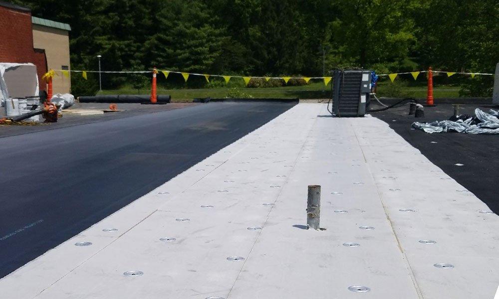 Commercial Flat Roof Beavercreek, Ohio