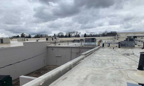 Commercial flat roof Kettering, Ohio