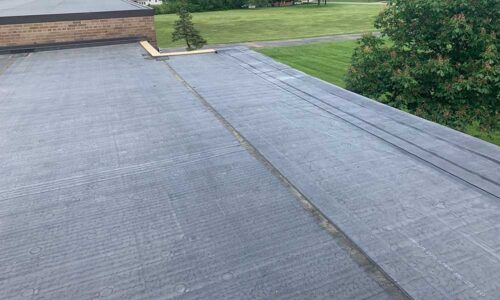Commercial flat roof Middletown, Ohio