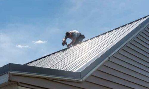 Troy, Ohio Metal roof repair