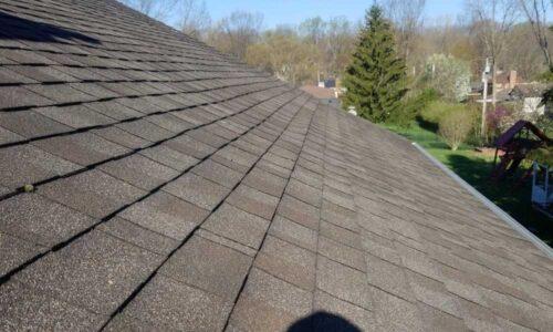 Shingle roof, Kettering, Ohio