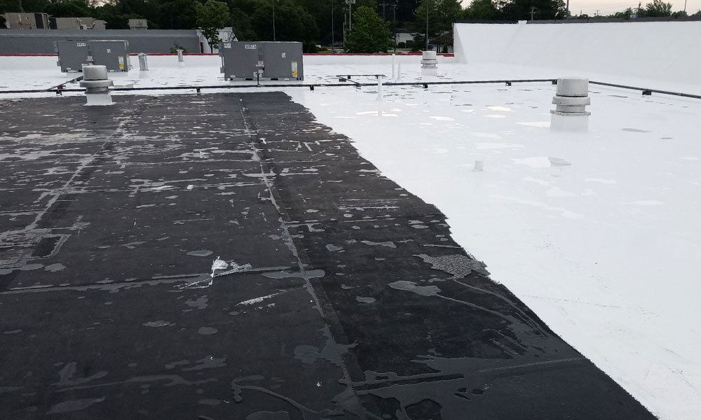 Commercial flat roof Enon, Ohio