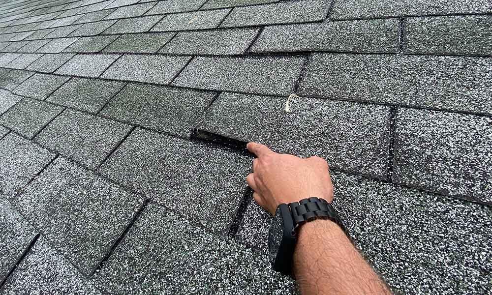 shingle roof repairs Enon, Ohio