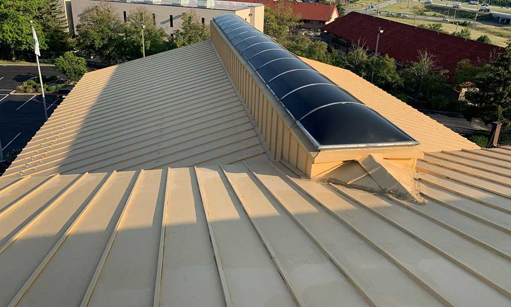 Commercial metal roof Miamisburg, Ohio