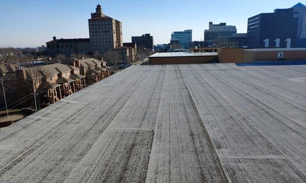 commercial flat roof oakwood ohio