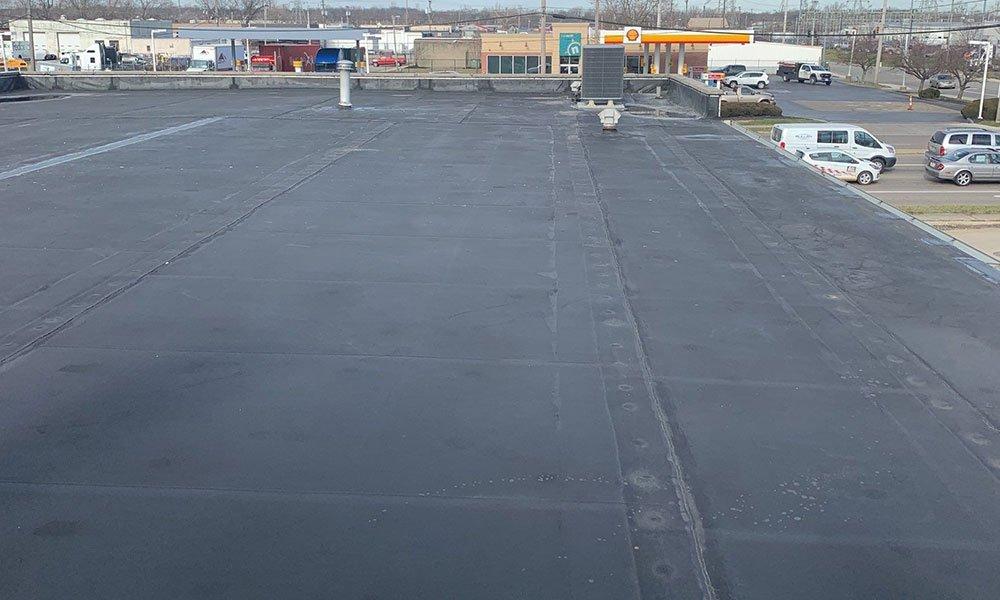 Commercial flat roof Springboro, Ohio